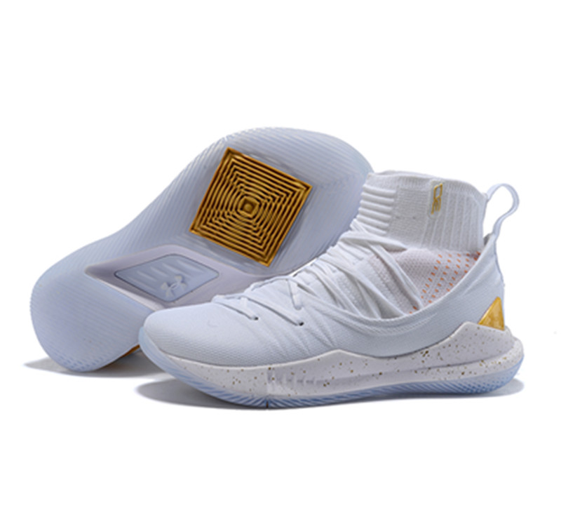 Curry 5 Shoes All White