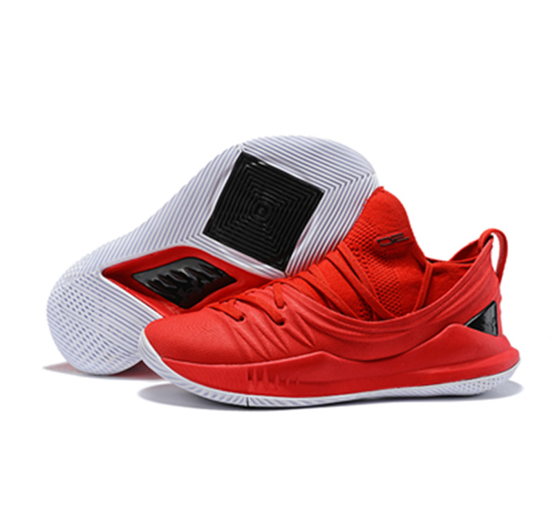 Curry 5 Shoes Red Low