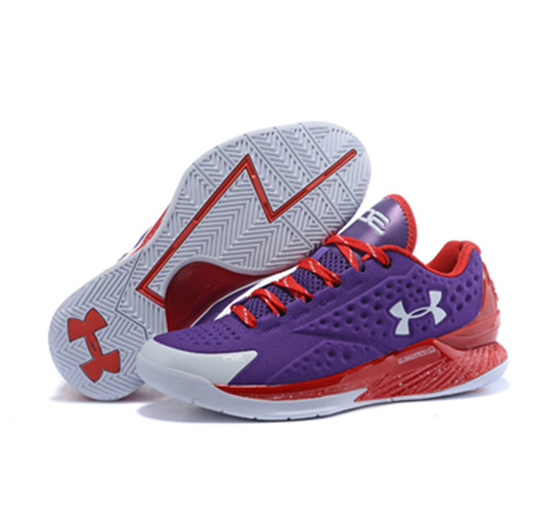 Under Armour Stephen Curry 1 Shoes Low Purple Red