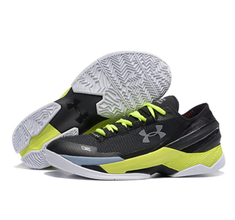 Under Armour Stephen Curry 2 Shoes Low Yellow Black