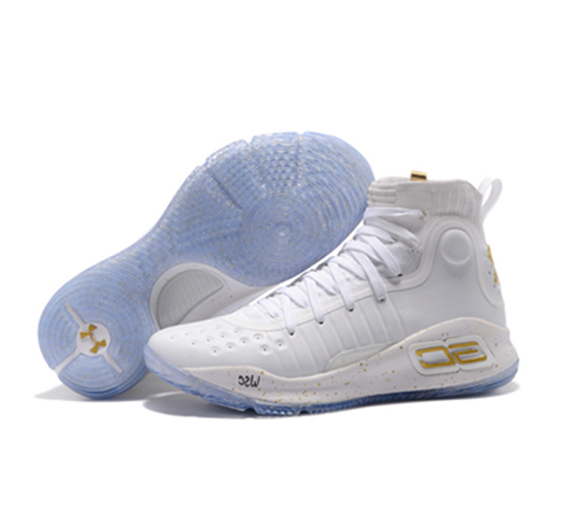 UA Stephen Curry 4 white