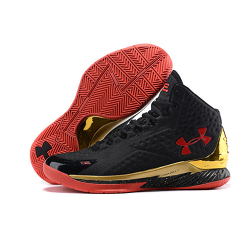 Under Armour Stephen Curry 1 Shoes red black