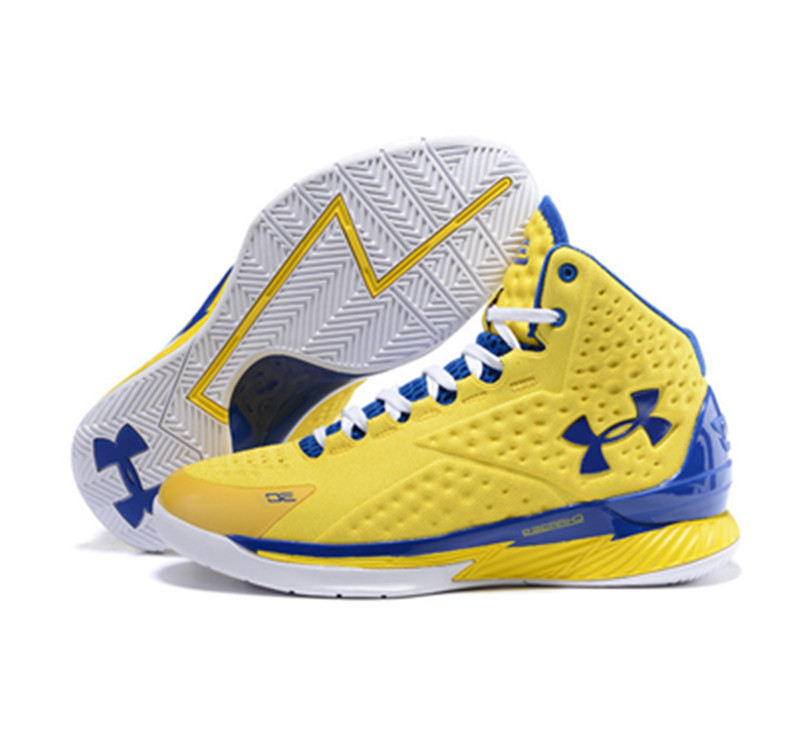 Under Armour Stephen Curry 1 Shoes yellow