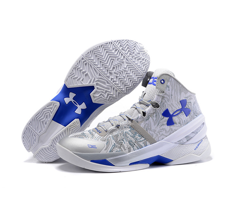 Under Armour Stephen Curry 2 Shoes Silver wave