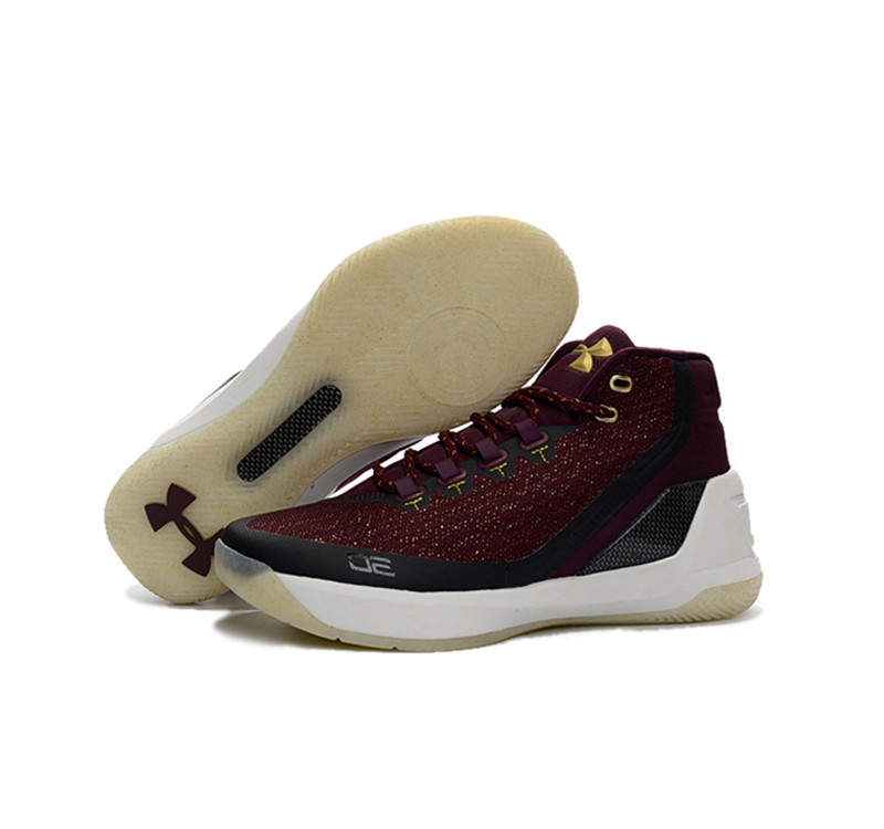Under Armour Stephen Curry 3 Shoes Red wine