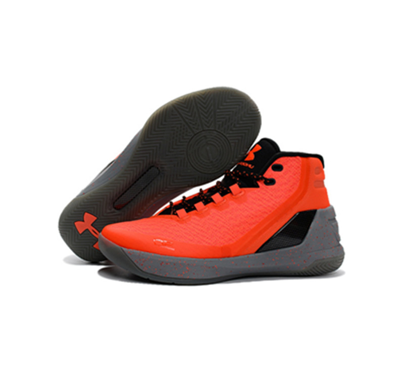 Under Armour Stephen Curry 3 Shoes orange black
