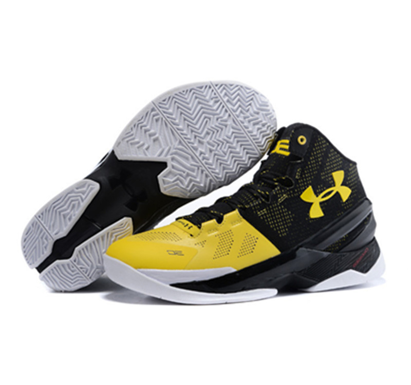 Under Armour Stephen Curry 2 Shoes Black Yellow