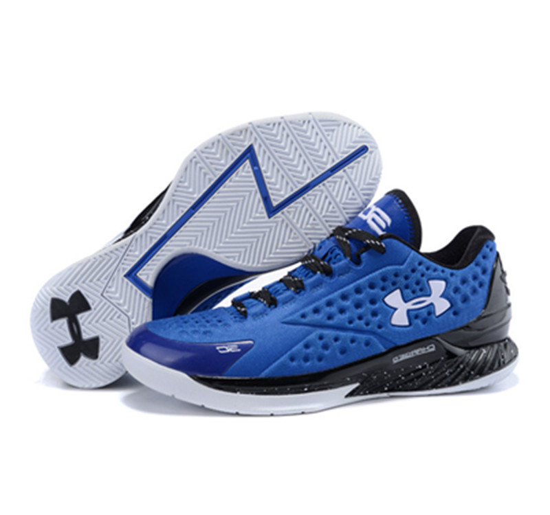Under Armour Stephen Curry 1 Low blue black white