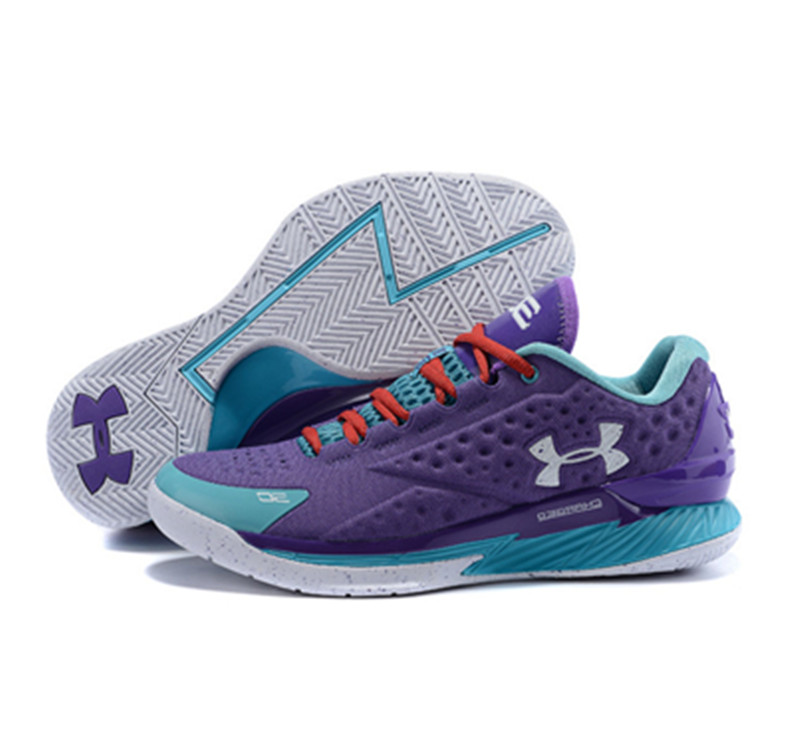 Under Armour ClutchFit Drive Low Stephen Curry Shoes Purple