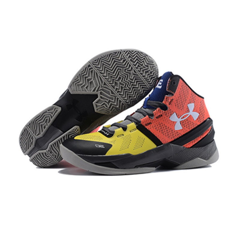 Under Armour Stephen Curry 2 Shoes Red Yellow