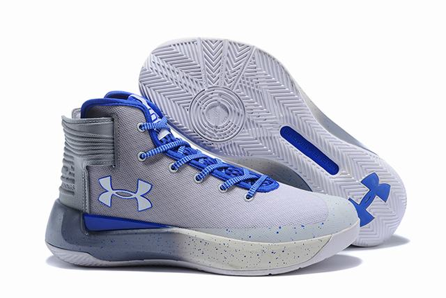 Curry 3.5 Shoes White Royal Blue