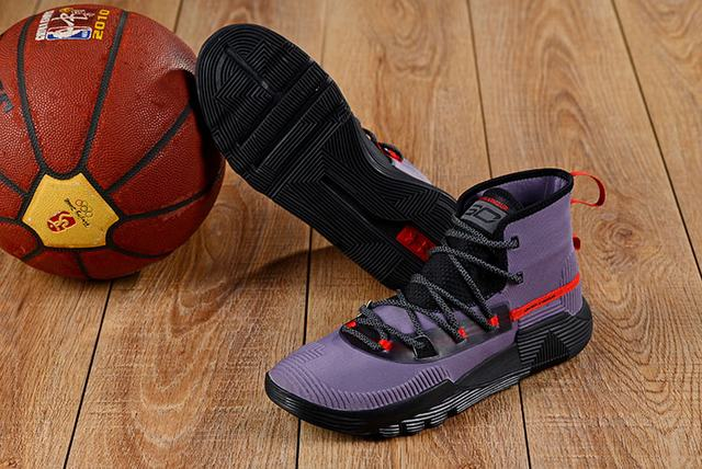 Curry 3 Shoes Purple Black