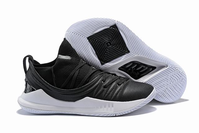 Curry 5 Shoes Black White