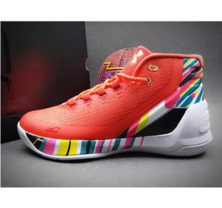 Under Armour Stephen Curry 3 Shoes red