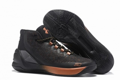 Curry 3 Shoes Black Gold