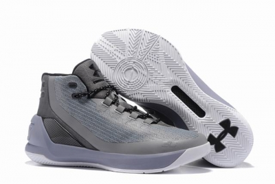 Curry 3 Shoes Grey White