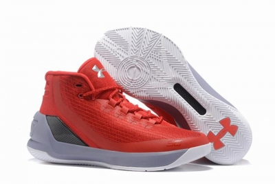 Curry 3 Shoes Red White