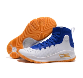 UA Stephen Curry 4 high blue White brown