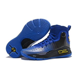 Curry 4 New Blue Black