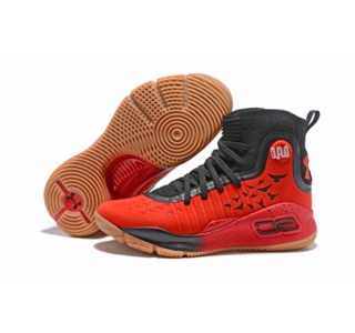 Curry 4 New Black Red