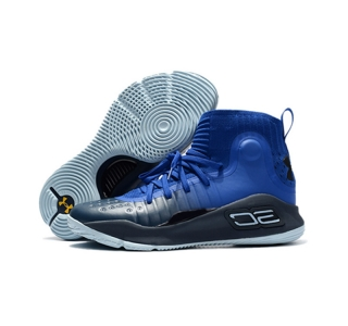 UA Curry 4 Courage Blue