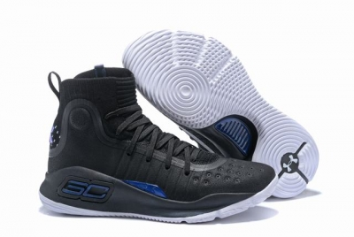 Curry 4 Shoes High Black Christmas Black