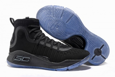 Curry 4 Shoes High Black