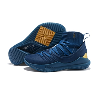 Curry 5 Shoes All Blue