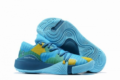 Curry 5 Shoes Lake Blue