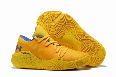 Curry 5 Shoes Orange Yellow