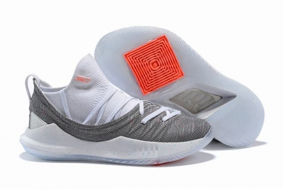 Curry 5 Shoes White Rainbow