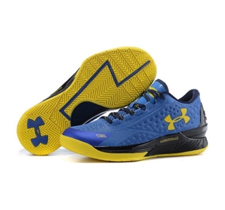Under Armour ClutchFit Drive Low Stephen Curry Shoes Black Blue