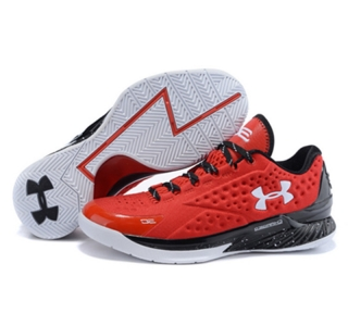 Under Armour Stephen Curry 1 Low red black white