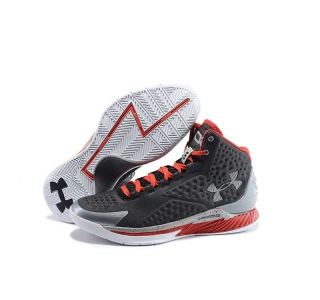 Under Armour Stephen Curry 1 Shoes gray red