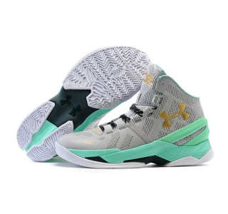 Under Armour Stephen Curry Two Easter signature gray gold