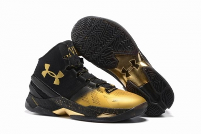 Curry 2 Shoes High MVP Black Gold